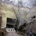 Unser letzter Halt: Der Steinbruch bei Thorberg.