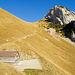 Schäferhütte mit Rückblick auf den Abstiegsweg