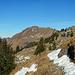 Bereits im Aufstieg zum Heita. Die Schneereste sind dabei nicht wirklich hinderlich.