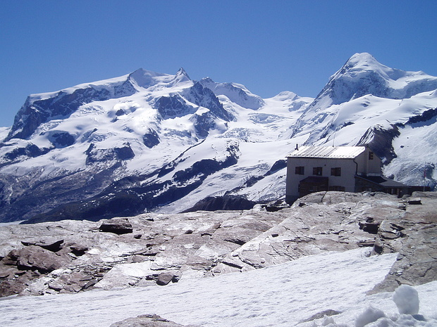 Mont Rose depuis Gandegg