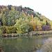 Püttlinger Bergehalde mit Weiher (Foto vom Okt. 2010)