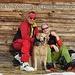 Frohe Weihnachten von harlem, Luca und MR