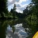 Zwar ein Kanal, aber bereits von der Natur zurückerobert