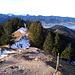 Blick zurück vom Steig des Baumgartenschneid.