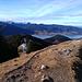 Blick zum Tegernsee vom Baumgartenschneid.