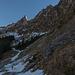 Schattige Nordseite der Alpiglemäre