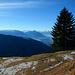 Rätikon und Glarner Alpen am Horizont