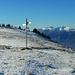 Wo bleibt der Schnee im Alpstein? Nur die Höchsten sind angezuckert.