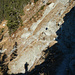 Bis auf zwei vereiste Stellen war der Rotastoaweg gut zu begehen. Der Weg ist aber zu dieser Jahreszeit nicht zu unterschätzen. Am 03.01.2017 stürzte ein Wanderer bei der Querung der Rotsteinerriese 70 Meter durch das felsdurchsetzte Gelände ab und kam mit Prellungen und Abschürfungen glimpflich davon.