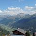 Panorama mit Galmihornhütte