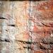 Arte rupestre aborigena: Mabuyu, a cui dei ladri rubarono i pesci che aveva pescato. Per punirli, nottetempo li murò nella loro caverna con un masso.