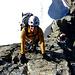 Kletterei im 2-3 Grad