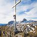 Gipfelkreuz Mutschen
