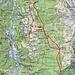 Route Alp di Fora