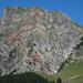 Goldlochroute. Im oberen Teil benutzte ich die linke Route, denke aber dass mit Vorteil früher auf Gratrücken weiter rechts gewechselt wird.