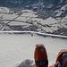 Fast baumeln die Skischuhe über Sargans