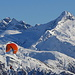 Höhenflug vor Hillenhorn und  Bortelhorn