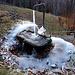 Produzione di ghiaccio a Cosasca (foto Faber)