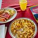 Amerikanisches Frühstück im Plattenbau