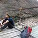 Georg auf Brücke (mosquito-freie Zone)