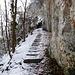Immer schön de Wände noo - zur Burgruine Wichenstein