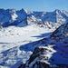 Teile des Morteratsch Gletscher