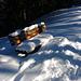 (207) Im Mangfallgebirge West, am Wallberg, Sommerweg, Höhe ca. 1400 m. Eindeutig die schönste Bank des Tourentages; sie steht in Kammhöhe, rechts und links gehts runter und die... BANK 79 von[u ShanB]