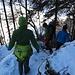 Der steile Abstieg nach St. Friedli.