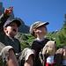 Einer meiner zwei Jungs hat einen Gleitschirm gesehen :-)