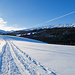 Ein letzter Rückblick zur Schrattenflue (rechts). Mittlerweile ist der Weg zwischen Alp Schlund und Hirsegg eine wahre Autobahn.