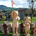 Schweizer Bärenfamilie