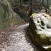 'Römerweg' mit Pflästerung und alten Trittlöcher