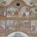 'Das Hühnerwunder', Darstellung der Legende aus dem 11. Jh.