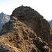 Die letzten Meter zum Ferdenrothorn sind leicht exponiert aber nicht schwierig.