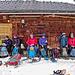 Mittagsrast bei der Alphütte Horweli