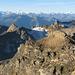 Dieses gewaltige Panorama ist nur ein Teil dessen, was man vom Ferdenrothorn sehen kann.