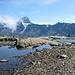 Bietschhorn vom Lötschepass aus gesehen.