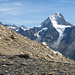 Bietschhorn während dem Aufstieg zum Hockenhorn.