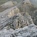 Am Nordgrat des Felsenhorns trifft man auf soliden Fels.
