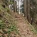 schöner, alter Weg von Finken nach Fesslers
