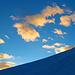 Wolkenspiel am Morgenhimmel