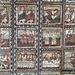 """Arrivati a Zillis cogliamo l'occasione per visitare la Chiesa di San Martino il cui soffitto a quanto pare è conosciuto in tutto il mondo. La chiesa definita """"Sistina delle Alpi"""" vanta infatti un soffitto composto da 153 tavole lignee ben conservate risalenti al XII secolo, sulle tavole è rappresentata la vita di Cristo."""