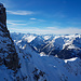 Alpines Feeling beim Aufstieg zum Grat