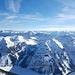Schöner Blick in die Berge um die Landsberger Hütte