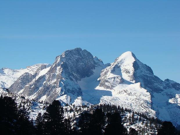Hochblassen und Alpspitze gezoomt