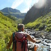 risalendo la Val Largè