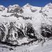 Blick über das Tal, zu bekannten Gipfeln.
