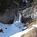 Wasser- bzw. Eisfall Le Pichiour