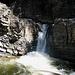 Ein erster, kleiner Wasserfall.