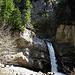 Der erste grosse Wasserfall mit Aussichtskanzel.